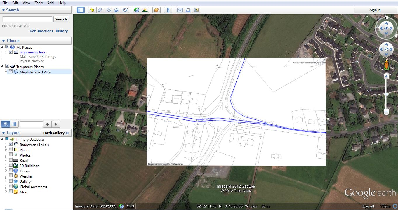 Anyone With Google Earth Downloaded On Their Pc Can Now Navigate Through  The Image Using All The Google Earth Functionality We Are All Used To