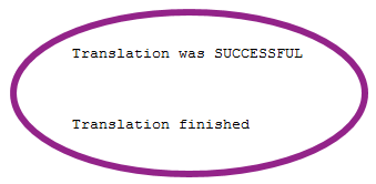 translation successful